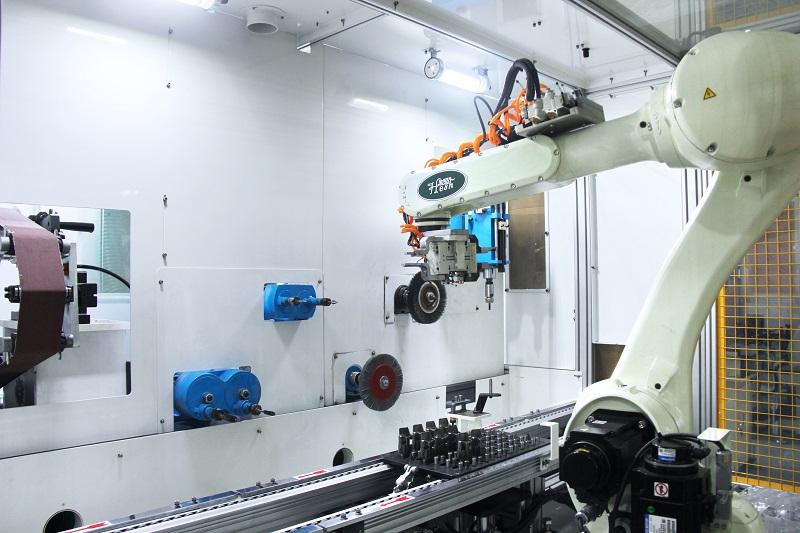 机器人去毛刺抛光机
